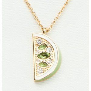 Kate Spade out of office lime mini pendant